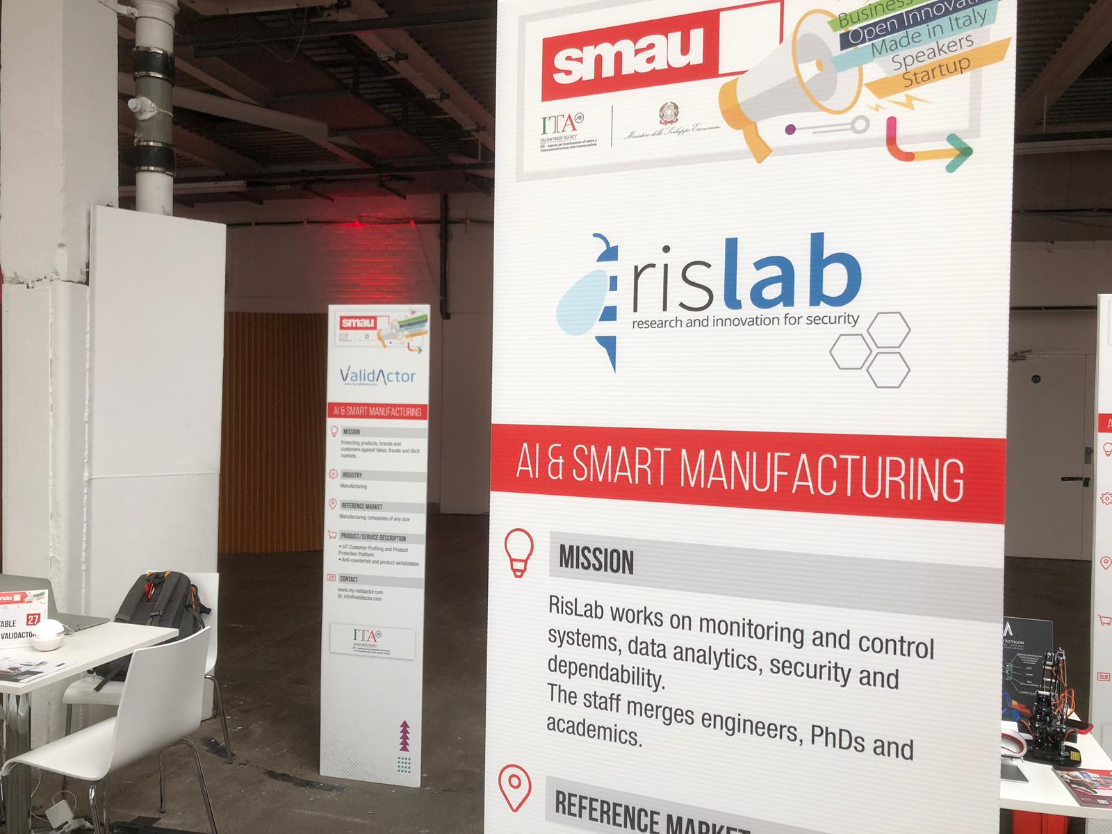 RisLab a Smau London 2019