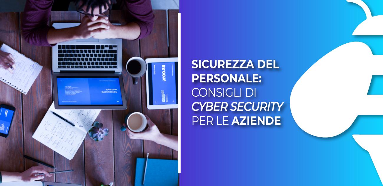 (Italiano) Sicurezza del personale: consigli di cyber security per le aziende