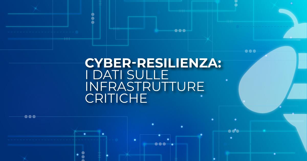 (Italiano) Cyber-resilienza: i dati sulle infrastrutture critiche