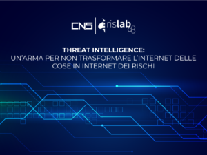 Threat intelligence: un'arma per non trasformare l'internet delle cose in internet dei rischi